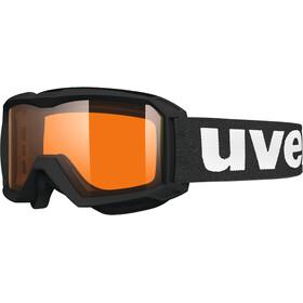UVEX flizz LG Goggles Kinder black mat
